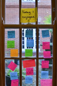 Sticky Notes from Tech Unconference